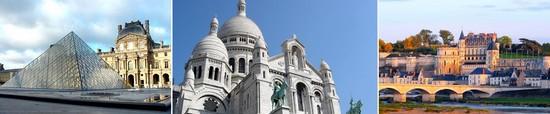 louvre museum - montmartre - amboise