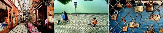 shopping in paris - cycling - pont des arts